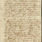 Bréf Þorsteins Magnússonar á Móeiðarhvoli 21. febrúar 1760.